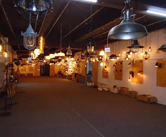 ECO LIGHTING showroom